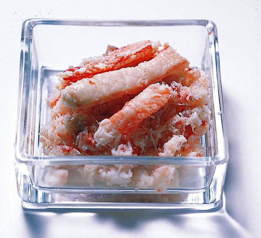 ズワイガニ(水煮缶詰)の画像