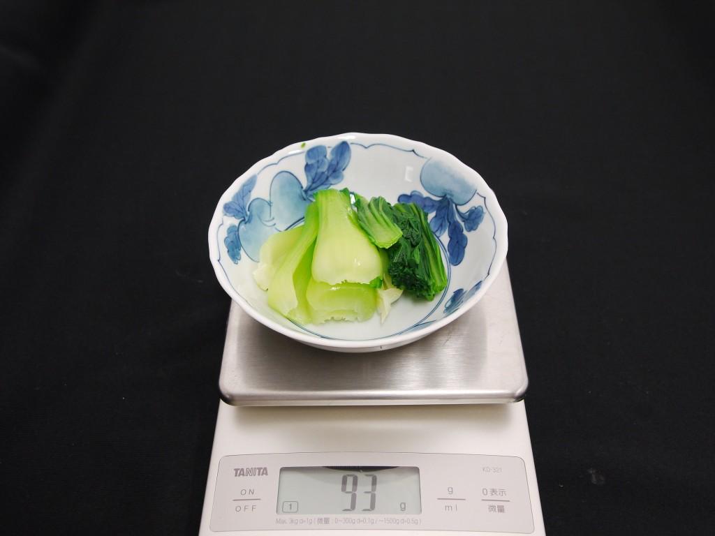 青梗菜の画像