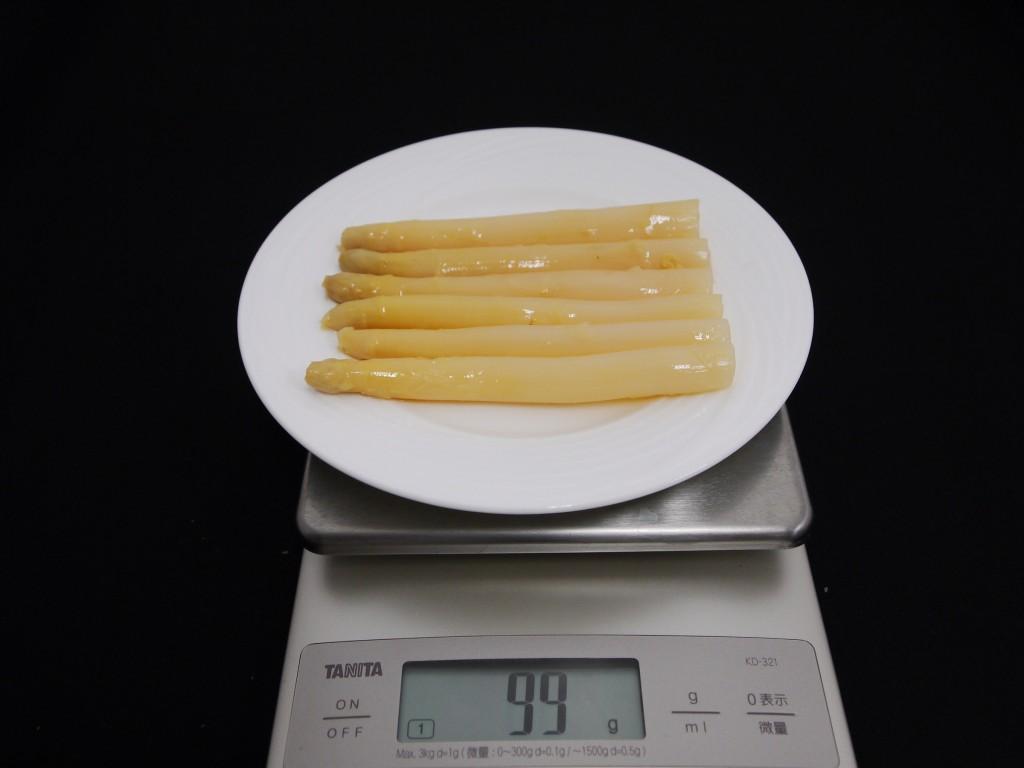 アスパラガス(水煮缶詰)の画像